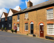 Victorian properties in Maldon